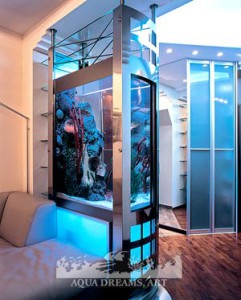 Акриловые аквариумы