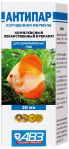 Антипар для аквариума