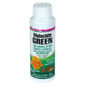Малахитовый зеленый для аквариума